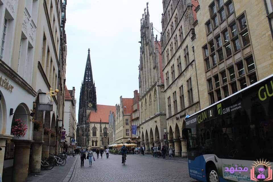 تجربة السفر لألمانيا مجانًا