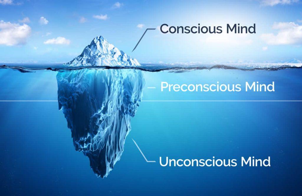 الفرق بين العقل الواعي واللاواعي , قوة عقلك الباطن